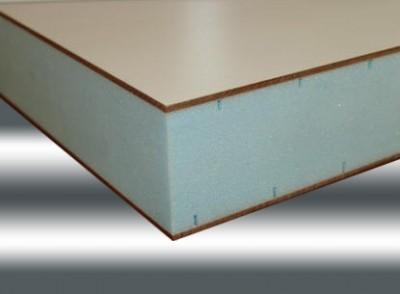 Paneles s ndwich de aluminio for Panel sandwich aluminio blanco